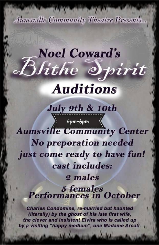 Blithe Spirit Auds